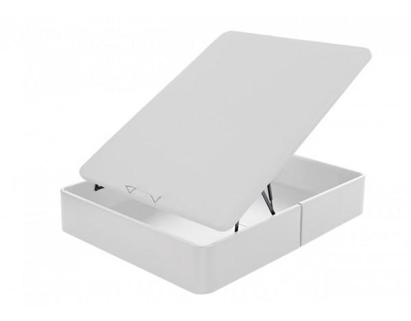 Canapé abatible gran capacidad tapizado polipiel  tapa 3D