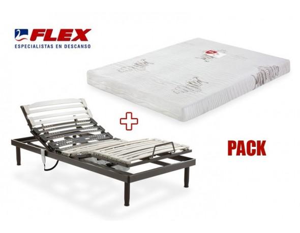 Pack de colchón + somier en oferta